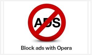 Как убрать рекламу в браузере Опера?